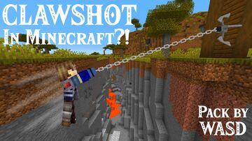 WASD Zelda Clawshot [Datapack] Minecraft Data Pack