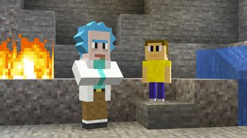 Rick and Morty pack Minecraft Data Pack