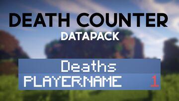 Death counter Minecraft Data Pack
