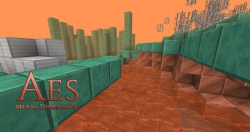Aes: Metal Dimension Minecraft Data Pack
