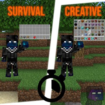 Creative Every Minute Minecraft Data Pack