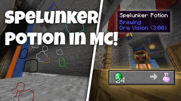Terraria Spelunker Potion in Minecraft Minecraft Data Pack