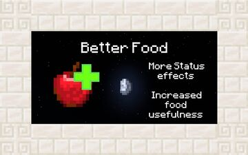 Better Food Minecraft Data Pack
