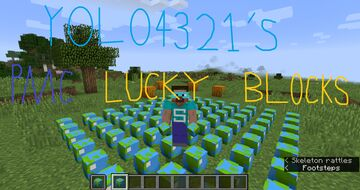 Yolo4321's PMC Lucky Blocks Minecraft Data Pack
