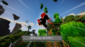 Bouncy Difficulty Challenge Minecraft Data Pack