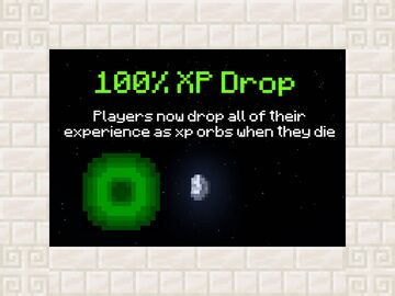 100% XP Drop (Players drop all of their experience) Minecraft Data Pack