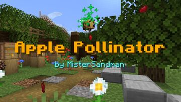 Apple Pollinator - Renewable Apples using Bees! Minecraft Data Pack