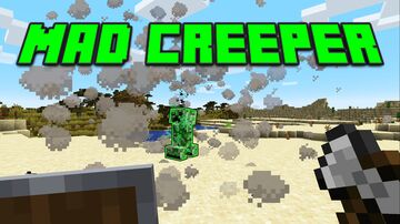 Mad Creeper Minecraft Data Pack