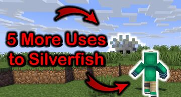5+ More Uses to Silverfish ! Minecraft Data Pack