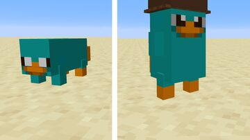 Perry the Platypus Minecraft Data Pack