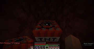 Tnt placer Minecraft Data Pack
