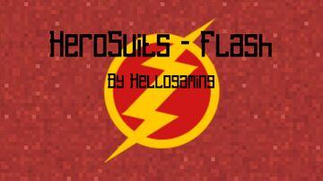 HeroSuits - Flash Minecraft Data Pack