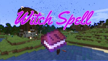 Witch Spell Minecraft Data Pack