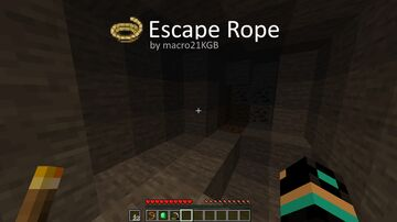 Escape Rope Datapack Minecraft Data Pack