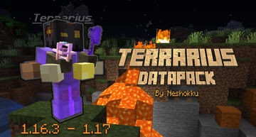 Terrarius Boss Data Pack (Add a new boss to your world) Minecraft Data Pack