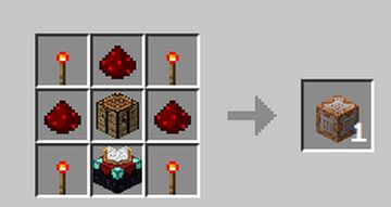CommandBlock Crafting Minecraft Data Pack