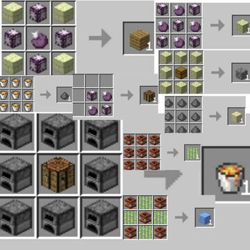 Very good recipes if you like end Minecraft Data Pack