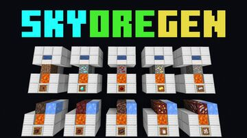 SkyOreGen (Skyblock Ore Generator) Minecraft Data Pack