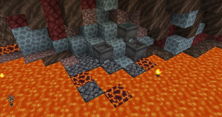 Ice is a rare commodity in the Nether, but it can be found through transmutation if you're clever enough.