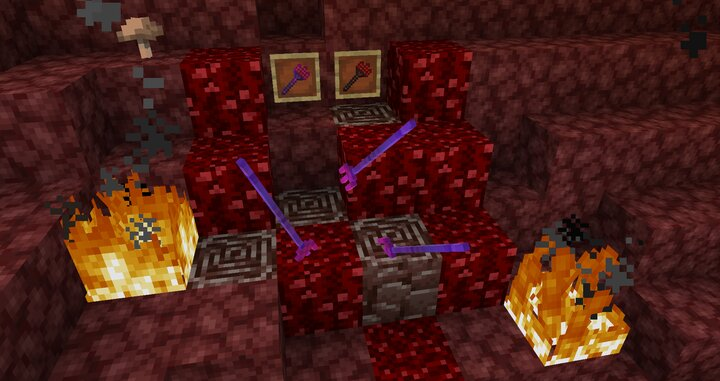 Pitchforks are one of strongest weapons known to those who deal in netherite. Its enchantments are extremely useful.