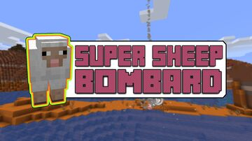 SuperSheeps attack you ! Minecraft Data Pack