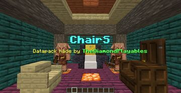 ChairS[1.16x] - Sit on Stairs, Slabs! Minecraft Data Pack