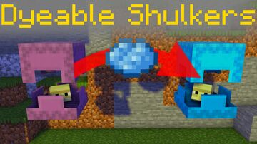 WASD Dyeable Shulkers [Datapack 1.16.1] Minecraft Data Pack