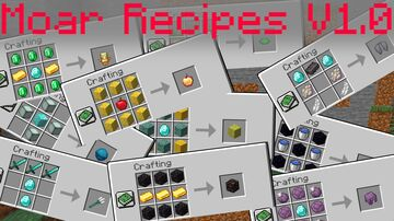 WASD Moar Recipes [Datapack] Minecraft Data Pack