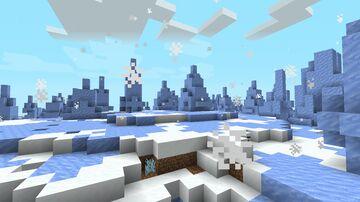 Snow World Minecraft Data Pack