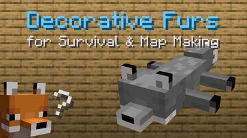Decorative Fur Rugs Minecraft Data Pack