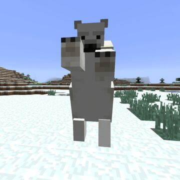 [FIRST WINTERFEST ENTRY!] Minecraft, but every 60 seconds a polar bear spawns on you Minecraft Data Pack