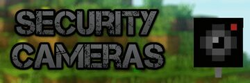 Working multifunctional security Cameras Minecraft Data Pack
