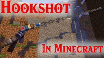WASD Zelda Hookshot [Datapack] Minecraft Data Pack