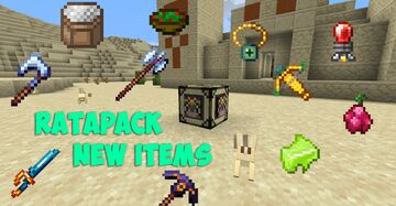 Ra'tapack | new items datapack for YouTube Minecraft Data Pack