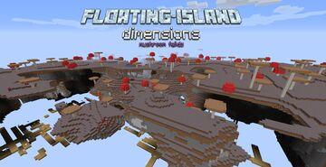 Floating Island Dimensions - Mushroom Fields Minecraft Data Pack