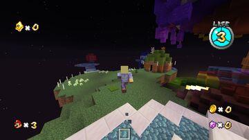 Mario Galaxy Custom HUD Minecraft Data Pack