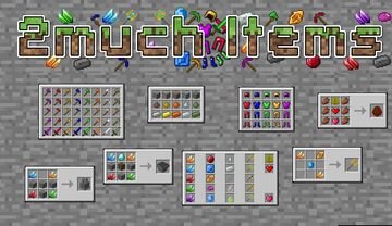 2much-Items-v1.11 Minecraft Data Pack