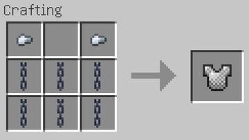 Chainmail Crafting Pack Minecraft Data Pack