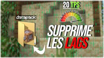 Reduce lag TPS !  Réduit les lags TPS !  [ Matlyce'Optimisation ]  [ MINECRAFT DATAPACK 1.16.X ] Minecraft Data Pack