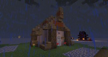 Costum New in Town buildings Minecraft Data Pack