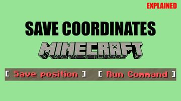 Save coordinates and Run commands at saved position Minecraft Data Pack