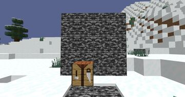 every were you look turns to bedrock! Minecraft Data Pack