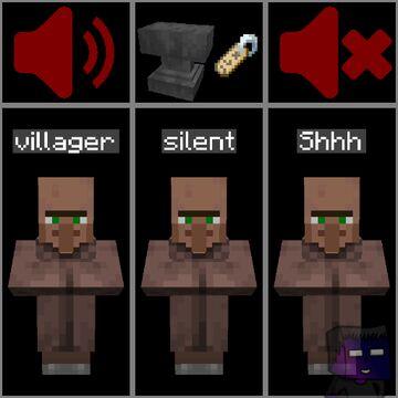Silent Mobs Minecraft Data Pack