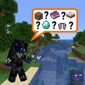 Fishing Drops Random Items Minecraft Data Pack