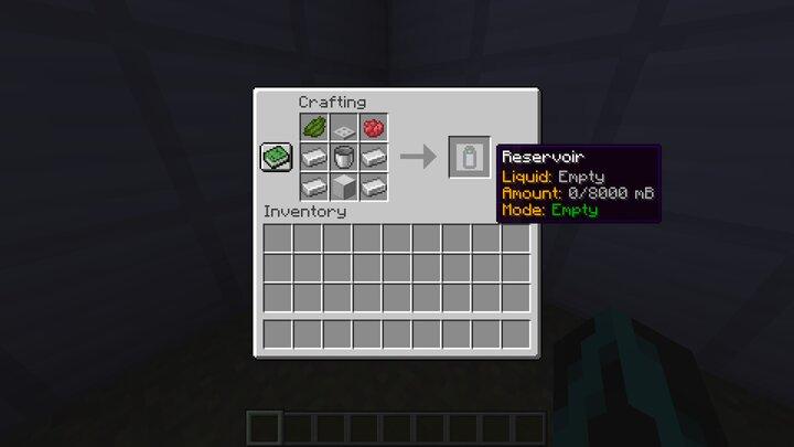 Recipe for Reservoir