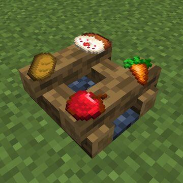 Camper Food Minecraft Data Pack