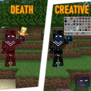 Creative Totem Minecraft Data Pack