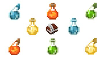 Lore Potions Minecraft Data Pack