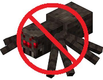 No Spiders Minecraft Data Pack