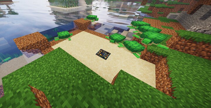 A use of a turtle spawner